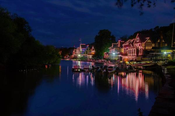 Photograph - October At Boathouse Row by Bill Cannon