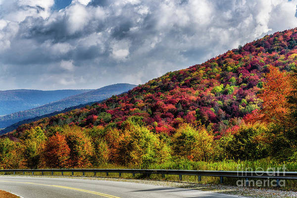 Photograph - October Highland Scenic Highway by Thomas R Fletcher
