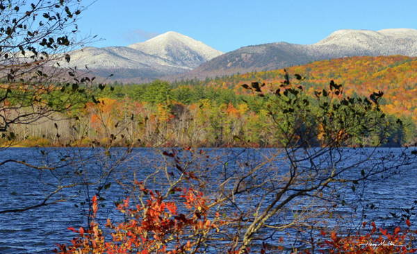 Photograph - October In New Hampshire by Harry Moulton