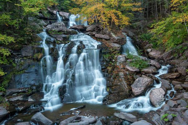 Photograph - October Morning At Bastion Falls by Jeff Severson