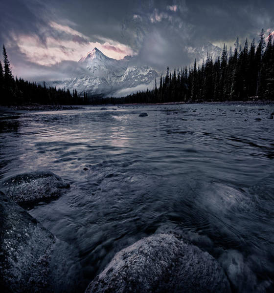 Photograph - October Morning In Jasper by Dan Jurak