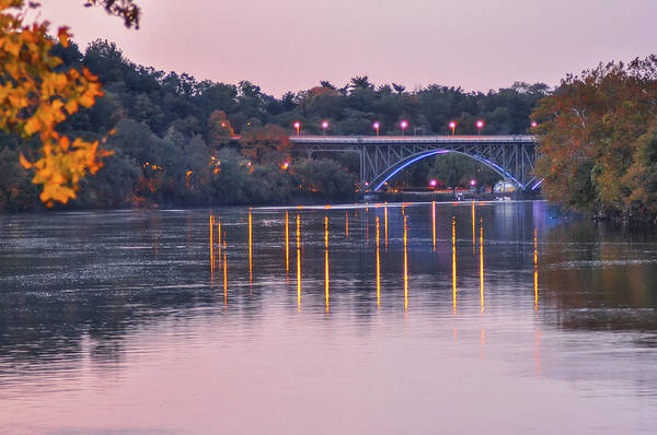 Wall Art - Photograph - October On The Schuylkill River by Bill Cannon