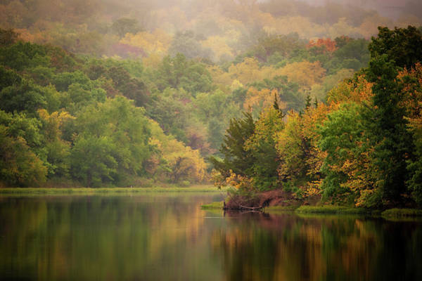 Photograph - October Reflections II by Jeff Phillippi