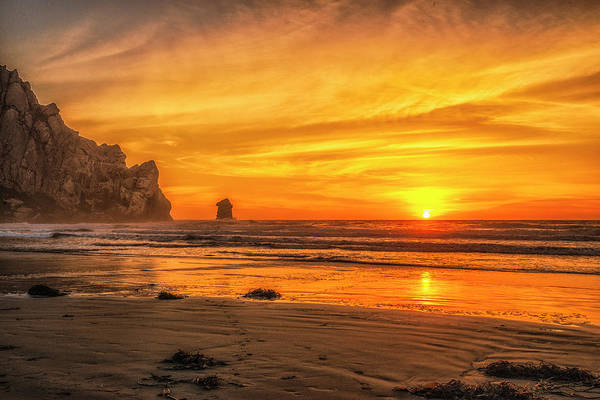 Photograph - October Sunset by Fernando Margolles