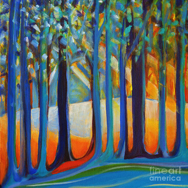 Painting - October Sunshine by Tanya Filichkin
