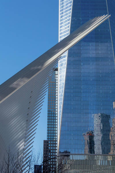 Photograph - Oculus And Wtc In Manhattan by Mark Hunter