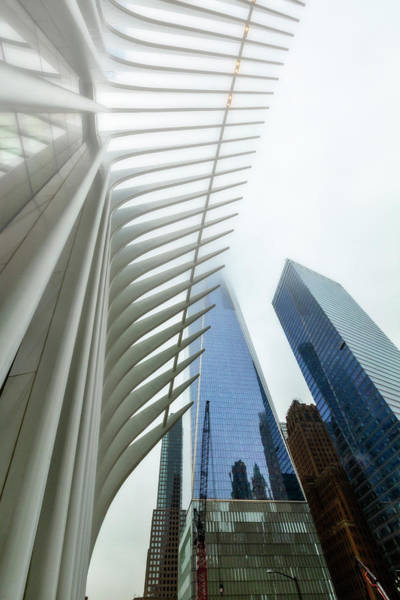 Photograph - Oculus And One World Trade Center by Kay Brewer