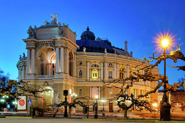 Photograph - Odessa Opera And Ballet Theater by Fabrizio Troiani