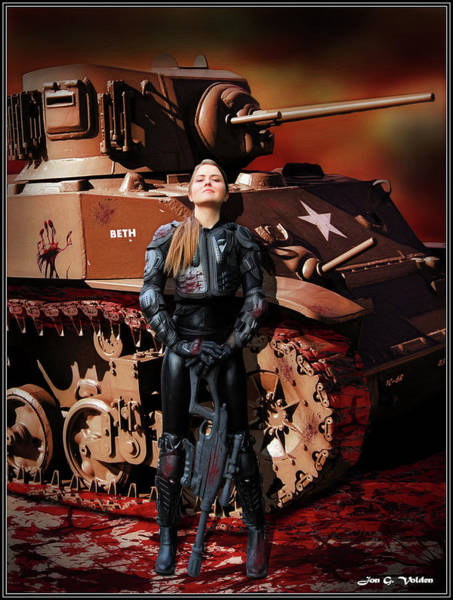 Photograph - Of Girls And Tanks by Jon Volden