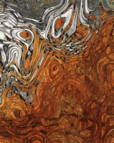Wall Art - Painting - Of The Earth Series - 2 by Jack Zulli
