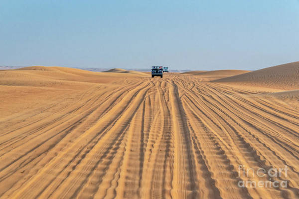 Wall Art - Photograph - Off Road In The Desert by Delphimages Photo Creations