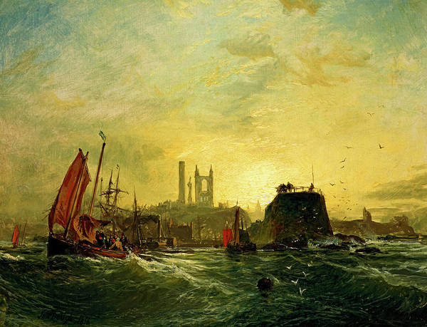 Wall Art - Painting - Off St Andrews by Samuel Bough