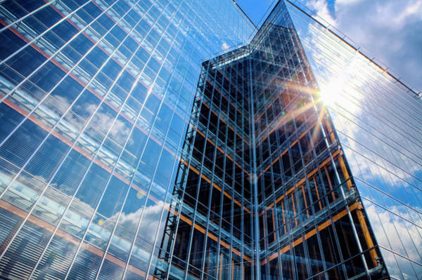 Photograph - Office Building by Druvo