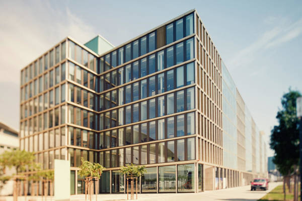 Photograph - Office Building In The Sun by Ppampicture
