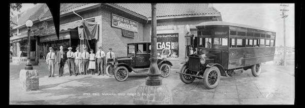 Wall Art - Photograph - Office Force, Washington Rapid Transit by Fred Schutz Collection