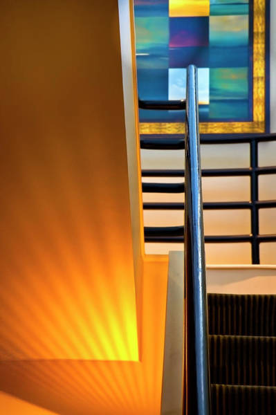 Photograph - Office Stairs  by Harriet Feagin