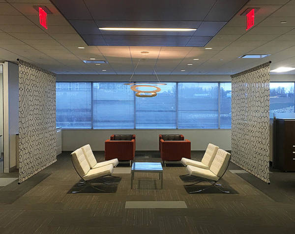 Photograph - Office Symmetry by Richard Reeve