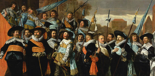 Wall Art - Painting - Officers And Sergeants Of The St George Civic Guard, 1639 by Frans Hals