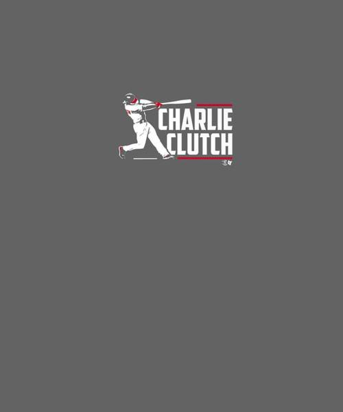 Wall Art - Digital Art - Officially Licensed Charlie Culberson Shirt - Charlie Clutch by Unique Tees