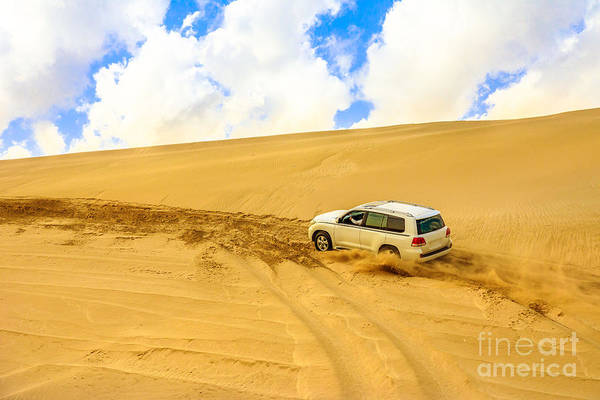 Photograph - Offroad Desert Safari by Benny Marty