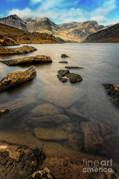 Wall Art - Photograph - Ogwen Lake Snowdonia by Adrian Evans