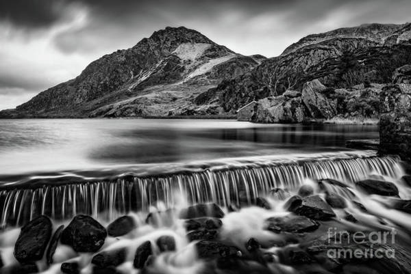 Wall Art - Photograph - Ogwen Weir Snowdonia by Adrian Evans