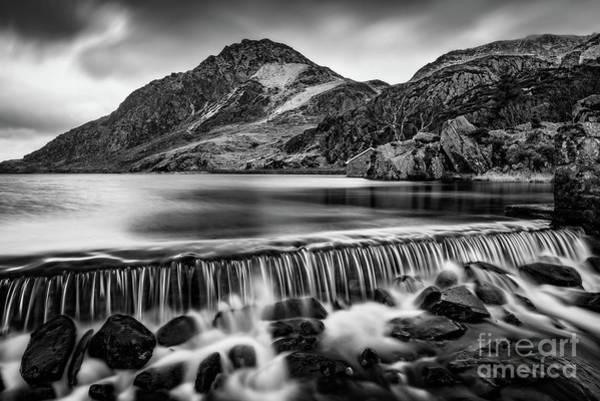 Photograph - Ogwen Weir Snowdonia by Adrian Evans