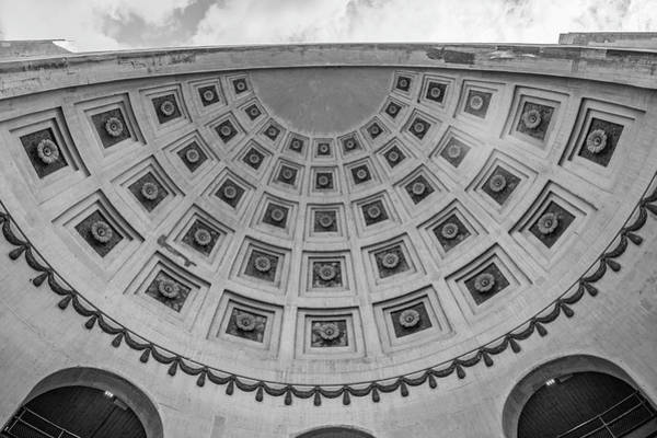 Wall Art - Photograph - Ohio State University Black And White 18 by John McGraw