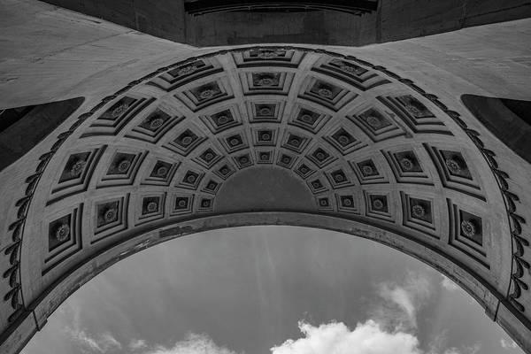 Wall Art - Photograph - Ohio State University Black And White 19 by John McGraw