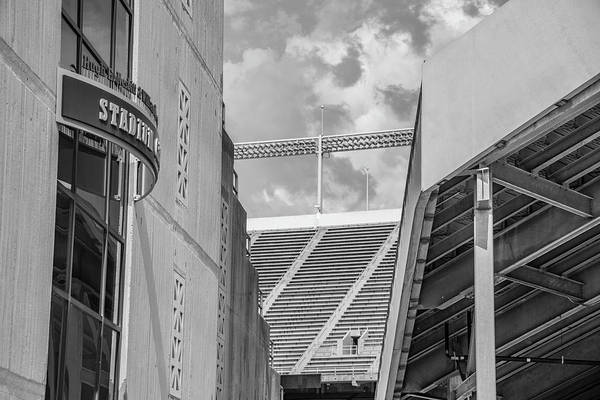 Wall Art - Photograph - Ohio State University Black And White 27 by John McGraw