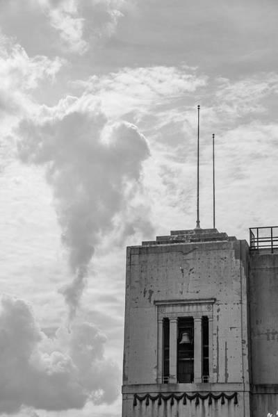Wall Art - Photograph - Ohio State University Black And White Ohio Stadium With Bell  by John McGraw