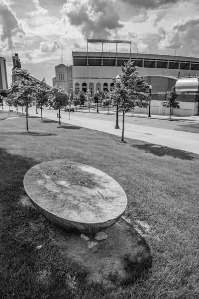 Wall Art - Photograph - Ohio State University Ohio Stadium And Sculpture 2 by John McGraw