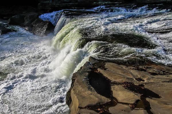 Photograph - Ohiopyle Falls 1 by Dawn Richards