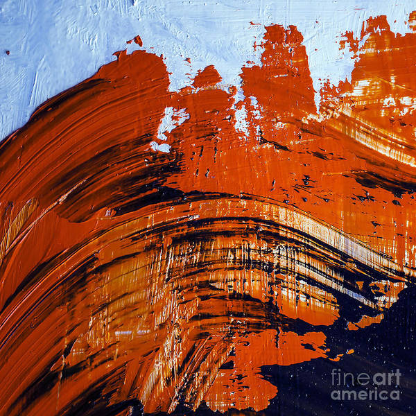 Wall Art - Photograph - Oil Painting Abstract Brushstrokes by Gumenyuk Dmitriy