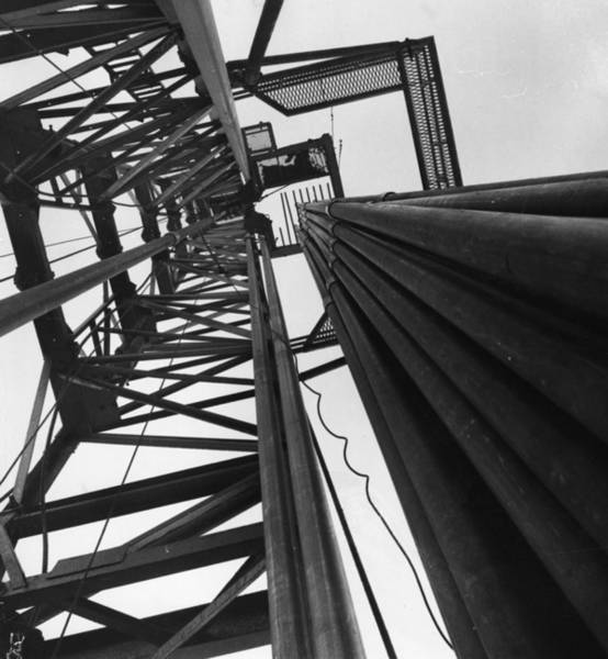 Nottinghamshire Photograph - Oil Pipes by Keystone