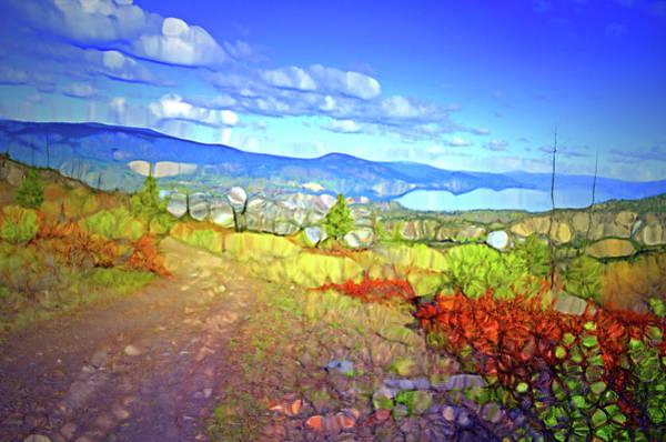 Wall Art - Digital Art - Okanagan Dreams by Tara Turner