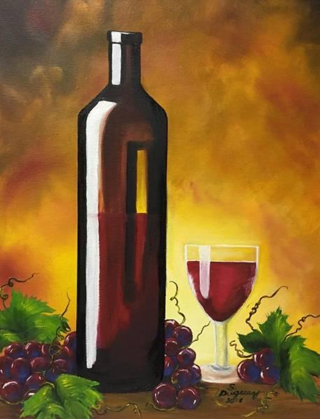 Painting - Okanagan Red  by Sharon Duguay