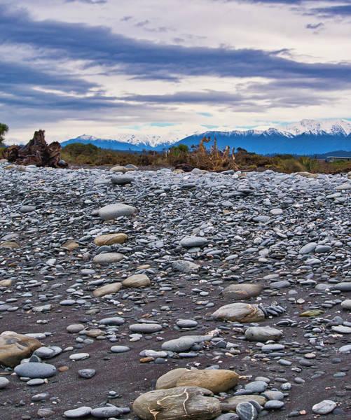 Photograph - Okarito Beach And Nz Alps by Steven Ralser