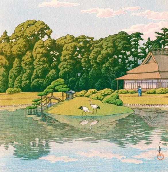 Wall Art - Painting - okayama kourakuen - Top Quality Image Edition by Kawase Hasui