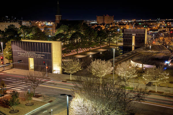 Wall Art - Photograph - Okc Memorial 34 by Ricky Barnard