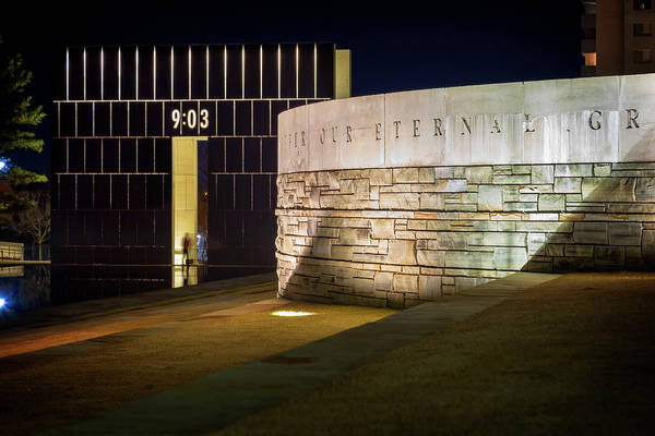 Wall Art - Photograph - Okc Memorial 36 by Ricky Barnard