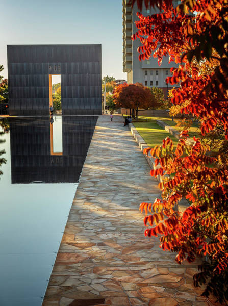 Wall Art - Photograph - Okc Memorial 39 by Ricky Barnard