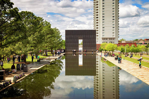 Wall Art - Photograph - Okc Memorial 40 by Ricky Barnard