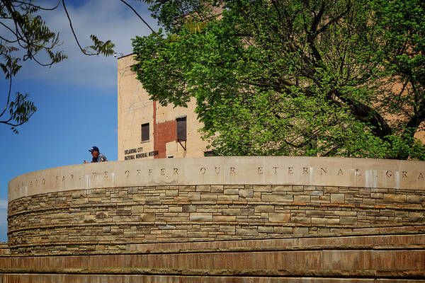 Wall Art - Photograph - Okc Memorial 42 by Ricky Barnard
