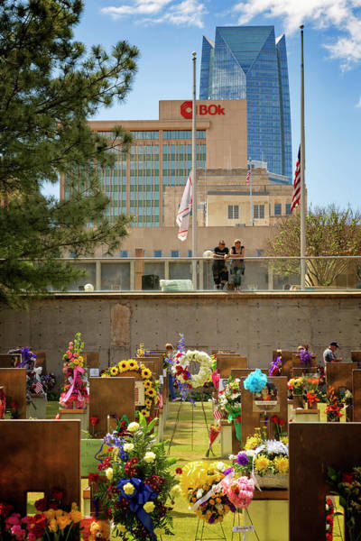 Wall Art - Photograph - Okc Memorial 43 by Ricky Barnard
