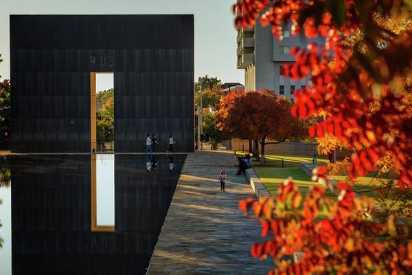 Wall Art - Photograph - Okc Memorial Xxx by Ricky Barnard