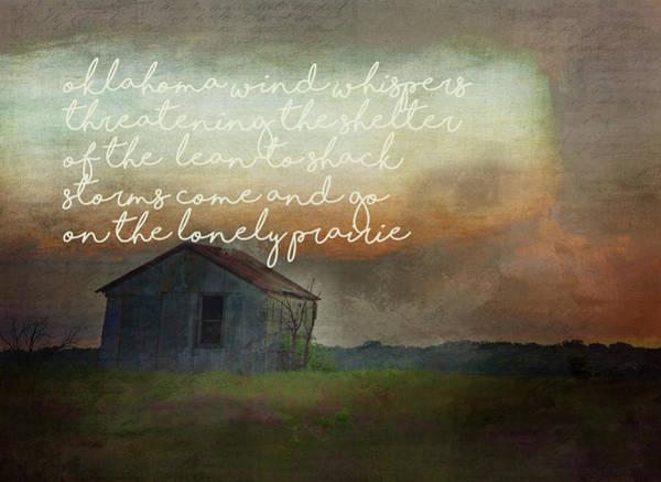 Wall Art - Photograph - Oklahoma Wind Whispers by Toni Hopper
