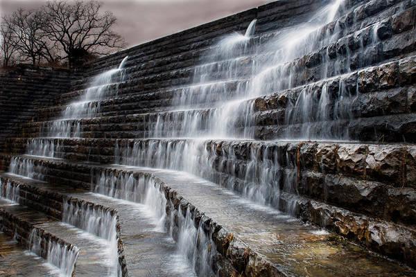 Spillway Photograph - Okmulgee Spillway by Tim Hayes