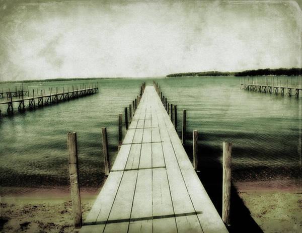Okoboji Docks Art Print