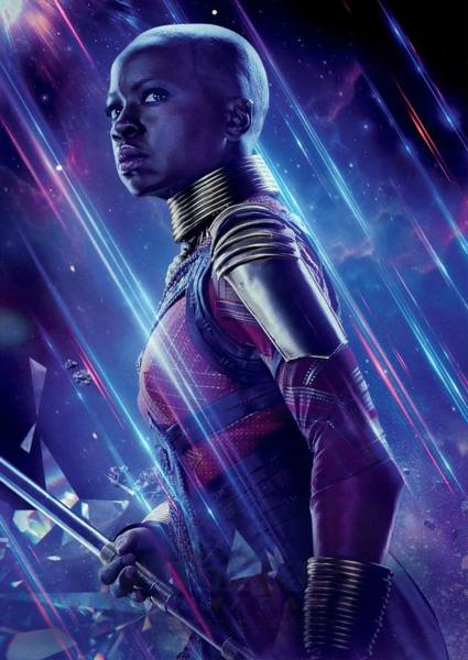 Wall Art - Digital Art - Okoye Avengers Endgame by Geek N Rock